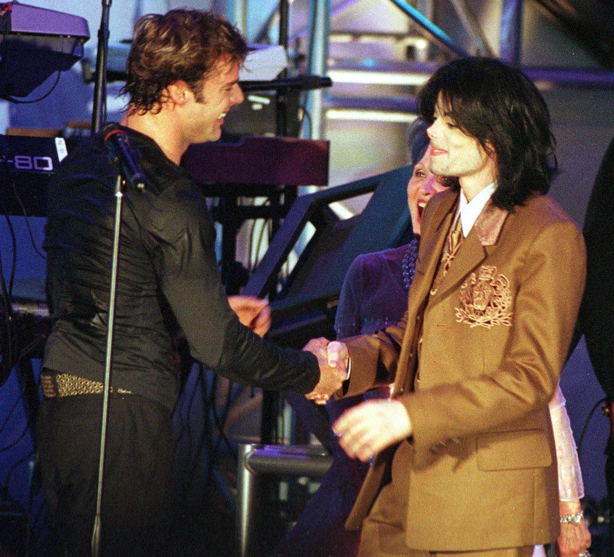 Michael Jackson, una leyenda con las estrellas
