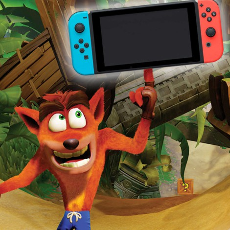 Crash Bandicoot en Switch es una gran noticia