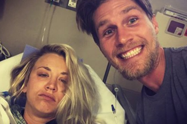 Kaley Cuoco, de 'The Big Bang Theory', enseña fotos de su luna de miel en el hospital