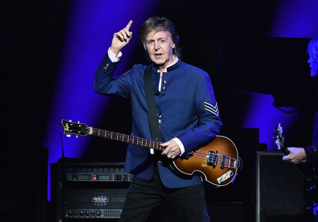 Paul McCartney prefiere no competir con Taylor Swift o Beyoncé