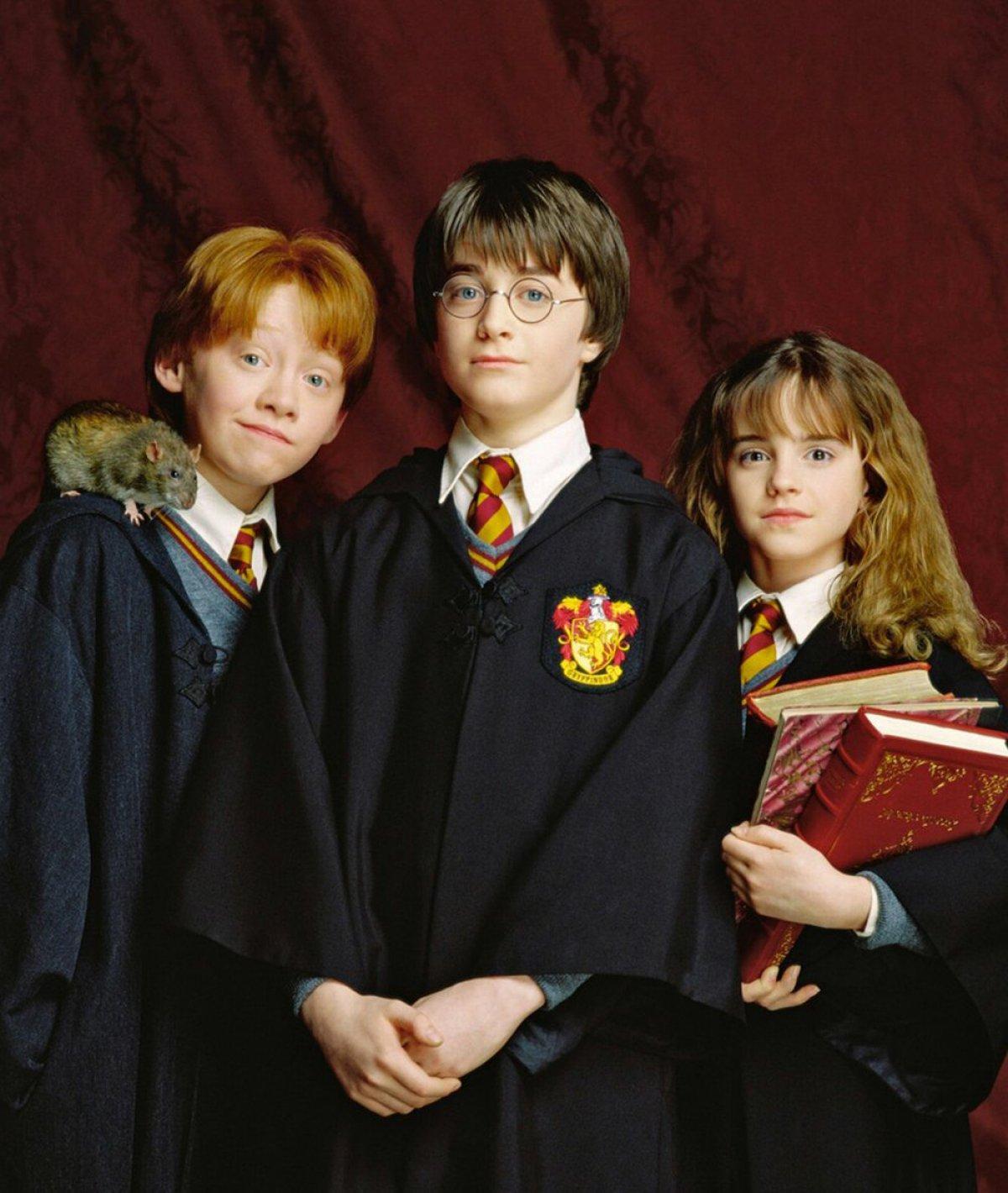 Harry, Ron y Hermione: así crecieron en \'Harry Potter\' | Fotogalería ...