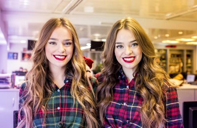 las gemelas que la hacen triunfar