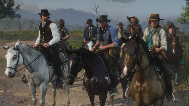 Empieza la beta de Red Dead Online