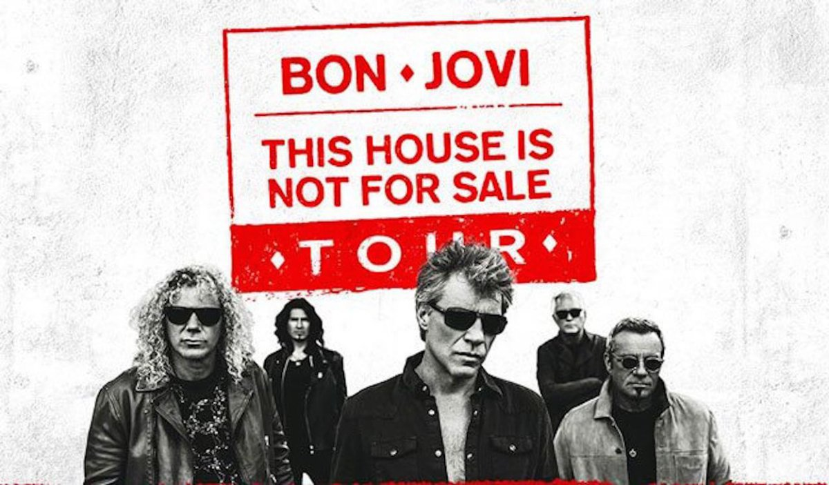 Bon Jovi This house is not for sale Tour