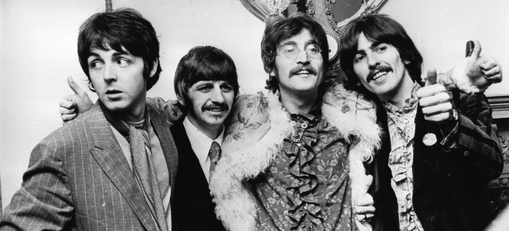 Los Beatles presentan su álbum 'Sgt Pepper's Lonely Hearts Club Band'