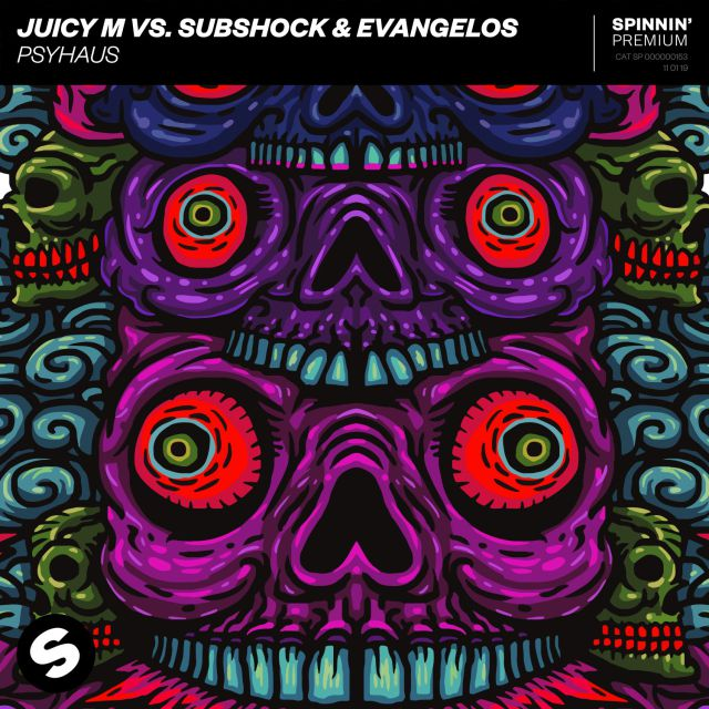 Juicy M Vs Subshock and Evangelos lanzan Psyhaus