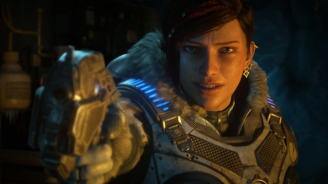 Gears of War 5 luce genial