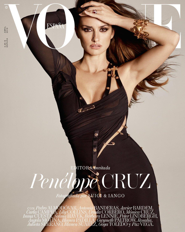 Penélope Cruz wciela się w Paz Vega, Úrsula Corberó i Blanca Suárez w Vogue