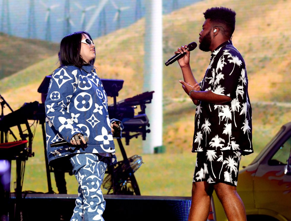 Billie Eilish y Khalid