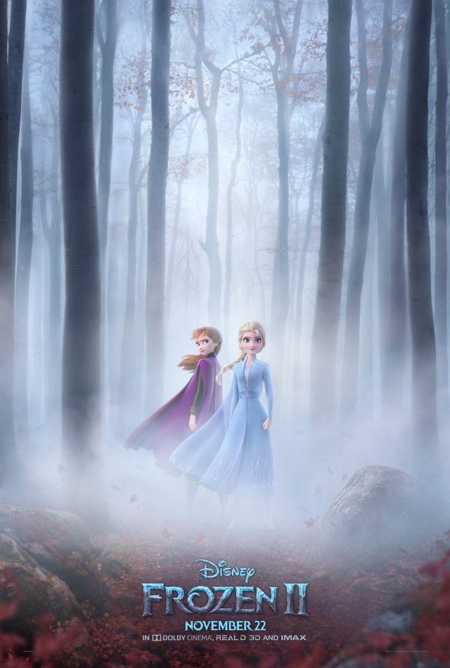 'Frozen II' estrena póster y calienta motores para un inminente segundo tráiler