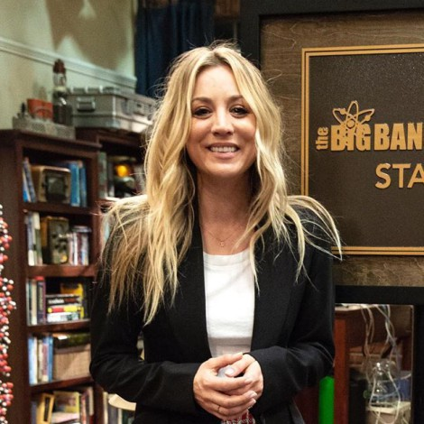 Así celebra Kaley Cuoco la nominación al Emmy de 'The Big Bang Theory'