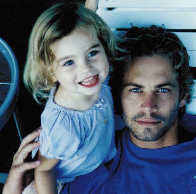 La hija de Paul Walker recuerda a su padre con una preciosa foto