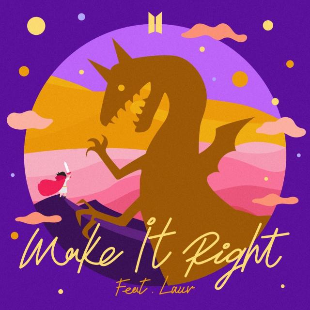 BTS, Lauv - Make It Right (Remix) [2019]