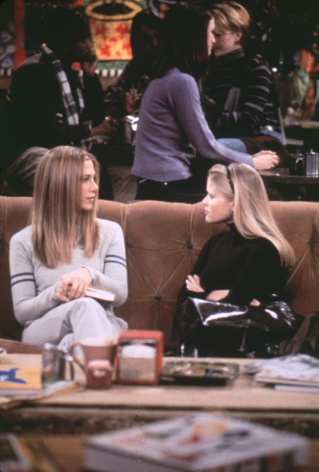 Jennifer Aniston y Reese Witherspoon recuerdan 'Friends' con esta divertida escena