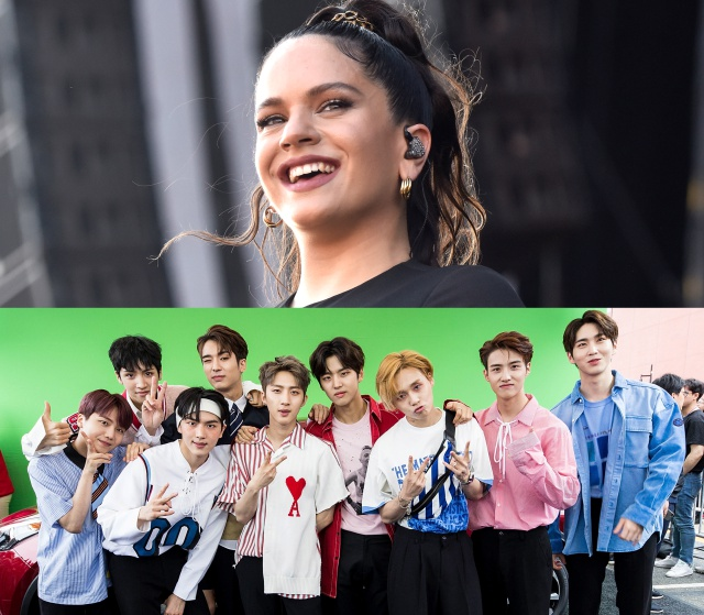 Un conocido grupo de K-Pop reacciona a Rosalía