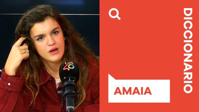 El diccionario de Amaia: Triunfo, Miedo, Amor, Fama... ¿qué significan para ella?