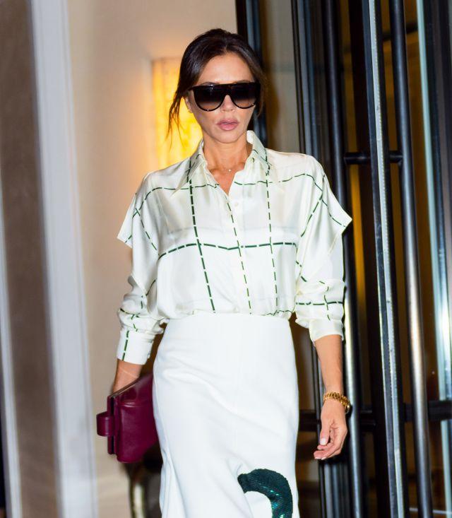 La Reina Letizia introduce en su armario a Victoria Beckham