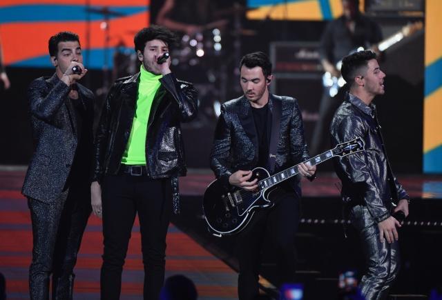 Resultado de imagen para JONAS BROTHERS Premios de Música LOS40 2019