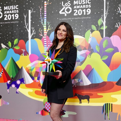 Laura Pausini y su legado musical recibieron un Golden Music Award