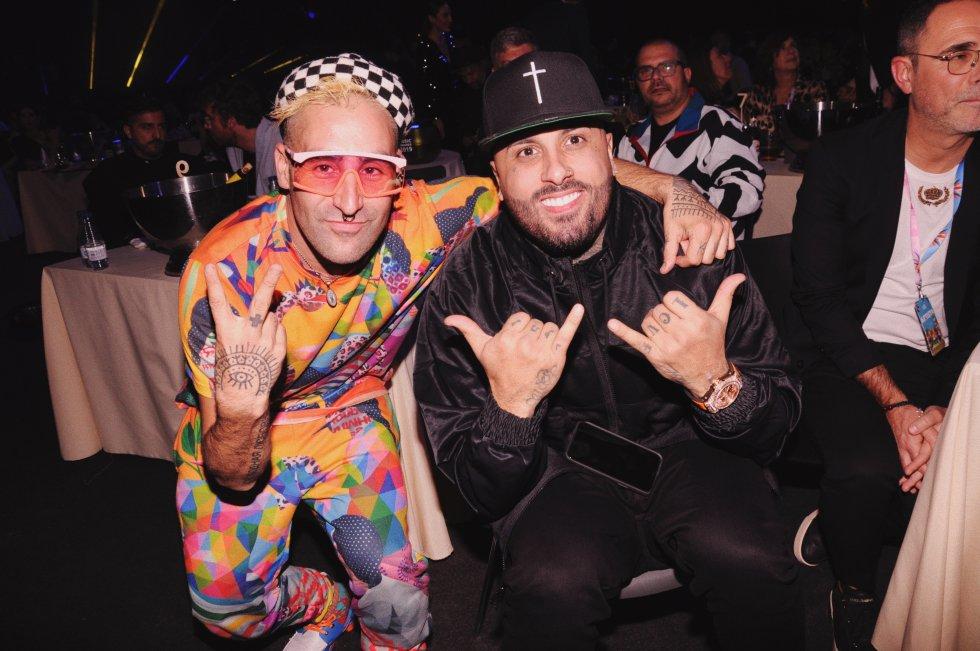 Okuda y Nicky Jam
