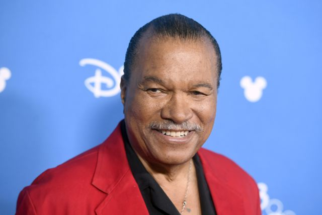 Billy Dee Williams en un evento de Walt Disney Studios para Star Wars