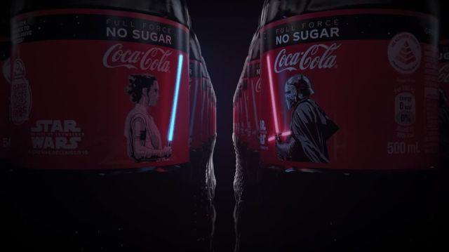 Coca-Cola tiene etiquetas OLED para Star Wars