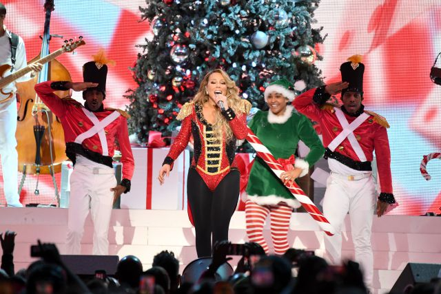 Mariah Carey vuelve al número 1 en Estados Unidos con 'All I Want for Christmas is You'