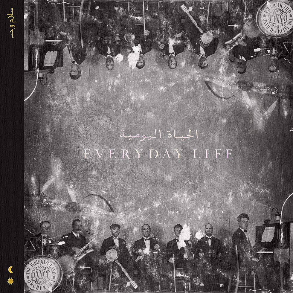 COLDPLAY. Everyday life