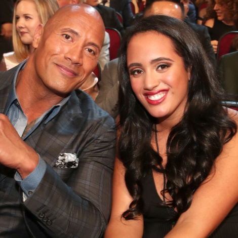 Simone Johnson, hija de The Rock, sigue los pasos de su padre