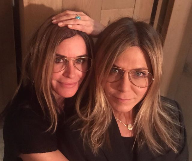 Jennifer Anniston y Courteney Cox