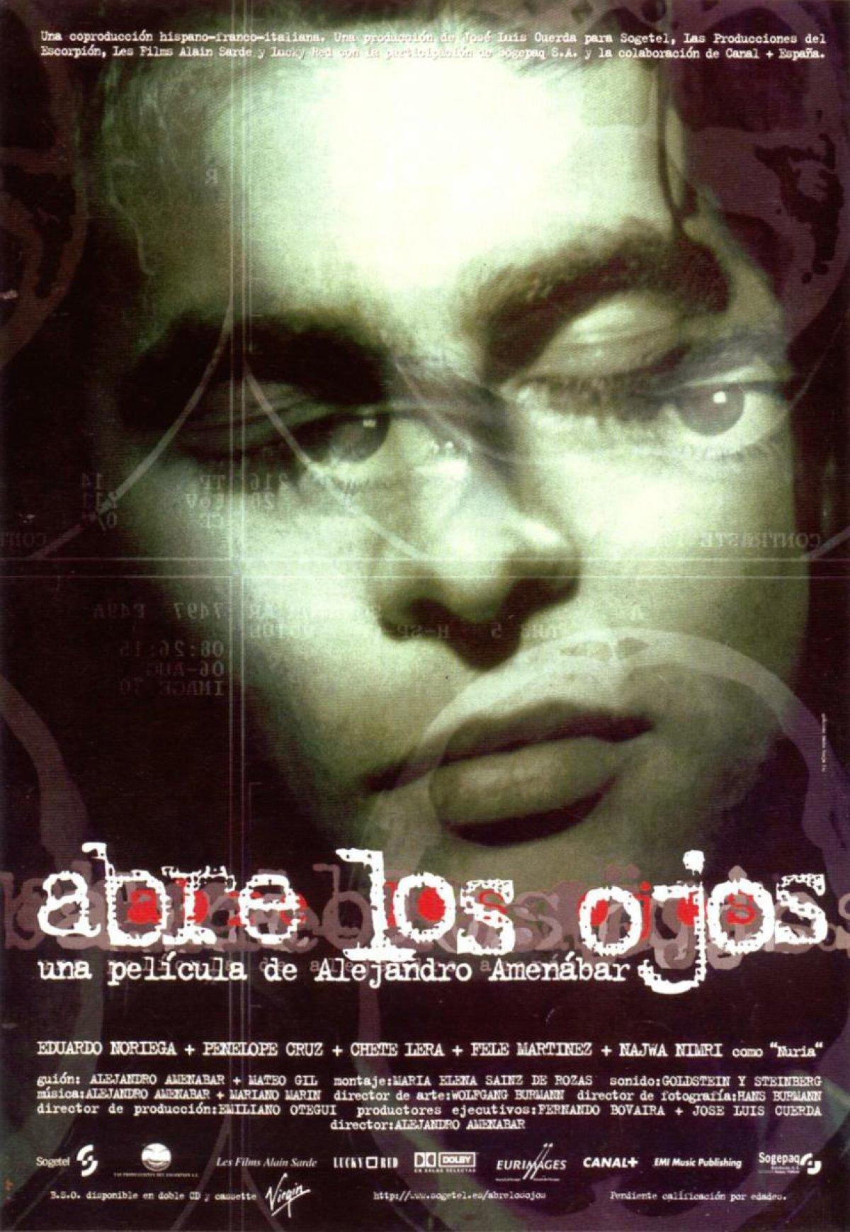 Otwórz oczy (1997), Alejandro Amenábar