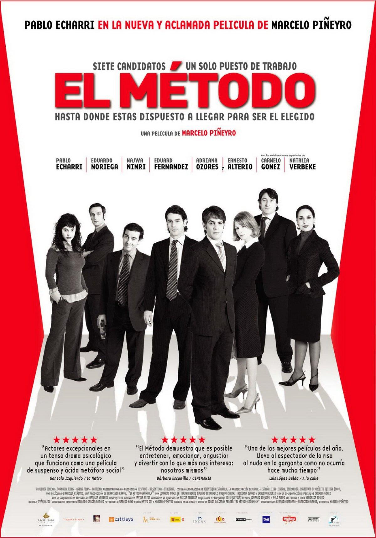 Metoda (2005), Marcelo Piñeyro