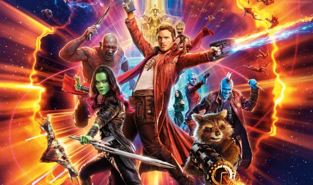 Guardianes de la Galaxia lista música James Gunn