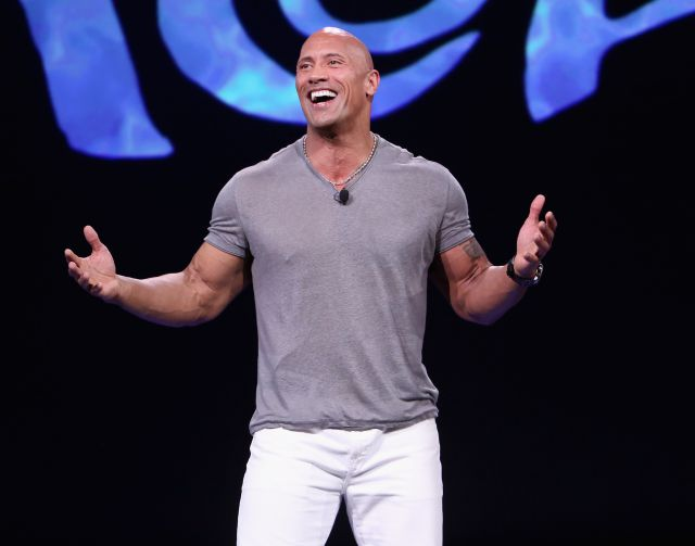 Dwayne The Rock Jonhson