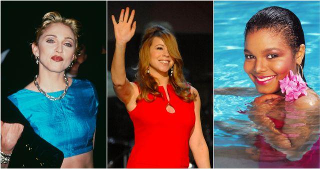 ¿Cómo han vuelto discos antiguos de Madonna, Mariah Carey y Janet Jackson a las listas de ventas?