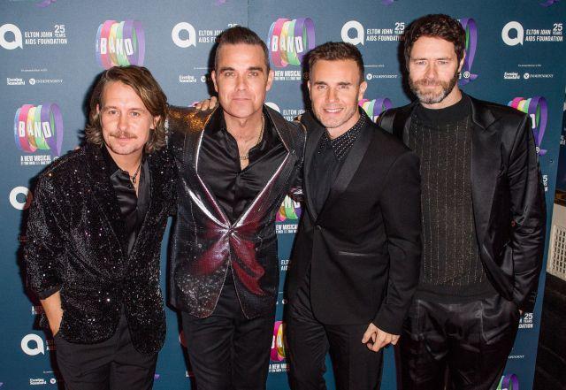 Robbie Williams se reunirá con Take That para dar un concierto benéfico virtual
