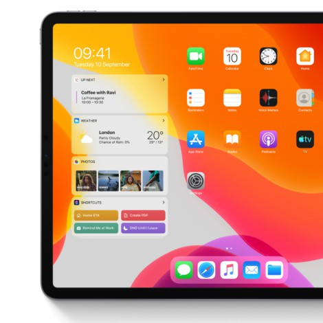 Apple presenta iPadOS 14