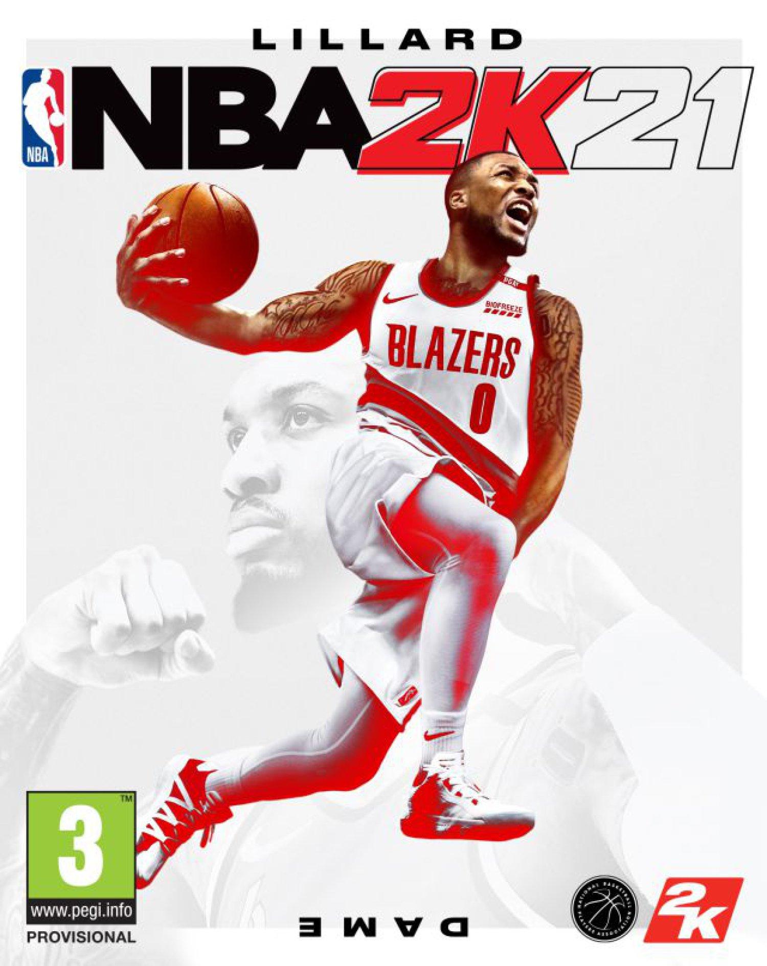 Damian Lillard, portada de NBA 2K21 para la actual generación de consolas |  Videojuegos | LOS40