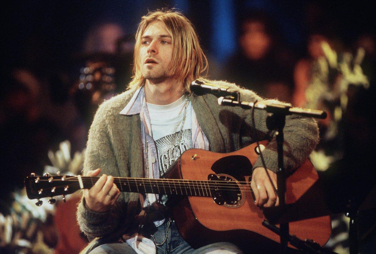 Chaqueta de Kurt Cobain