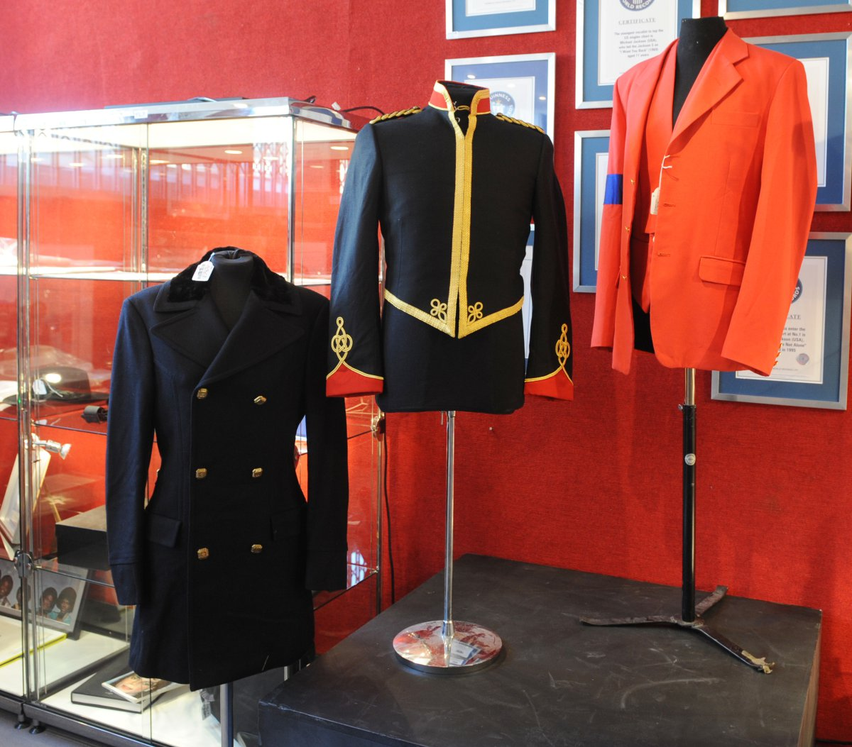 Chaqueta militar de Michael Jackson