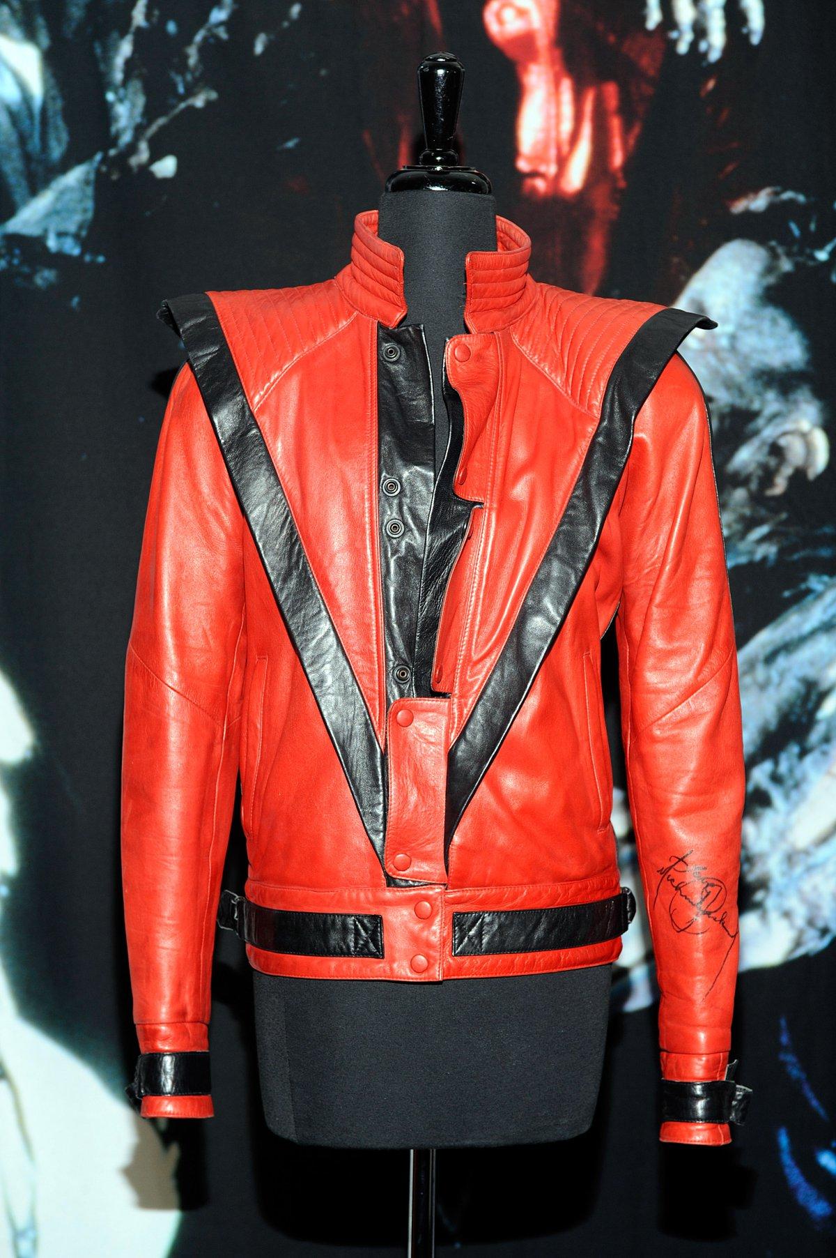 Chaqueta de piel de Michael Jackson