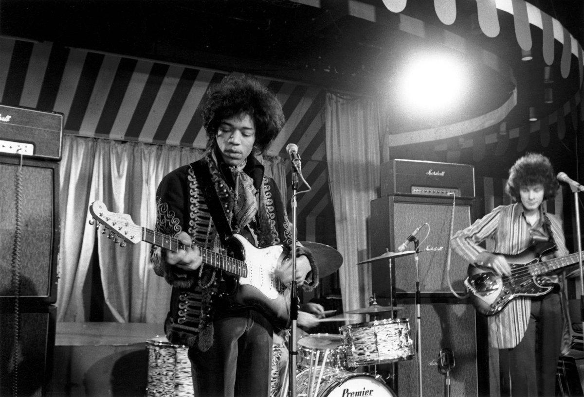 Camisa de Jimi Hendrix