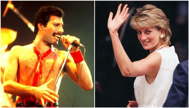 La noche en la que Lady Di se disfrazó de hombre para salir de fiesta con Freddie Mercury