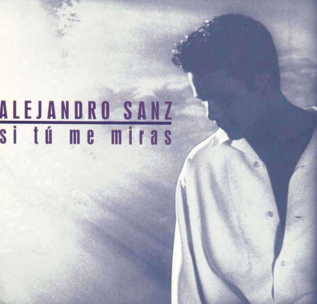 Hace 27 Años Alejandro Sanz Lanzaba Su Segundo Disco Si Tú Me Miras Uno De Sus Favoritos Música Los40