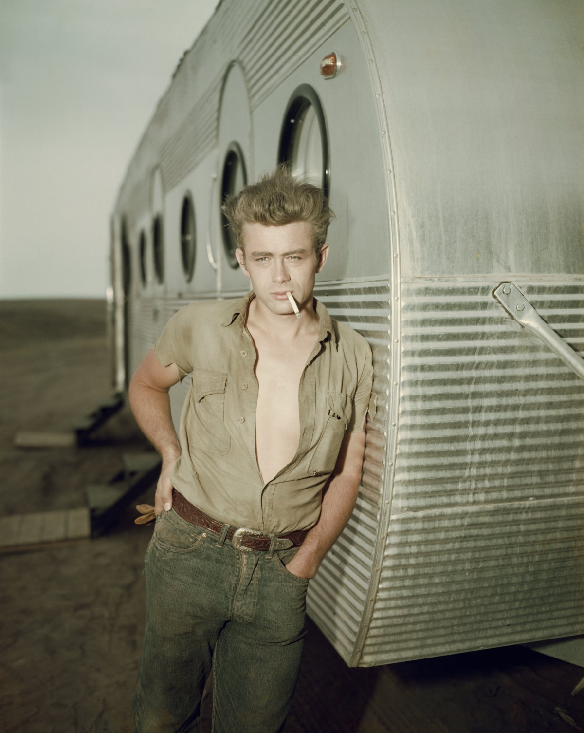 James Dean (1931 – 1955) / Accidente de tráfico