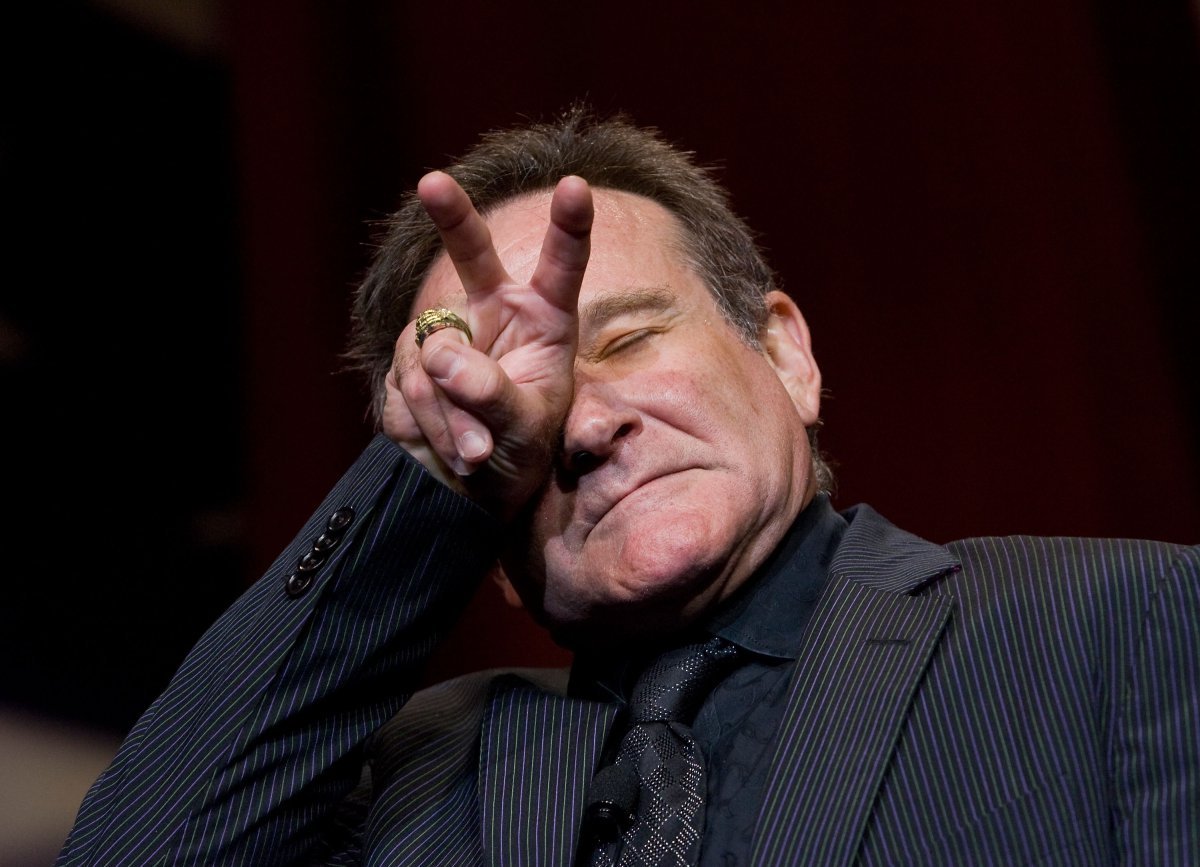 Robin Williams (1951 – 2014) / Suicidio