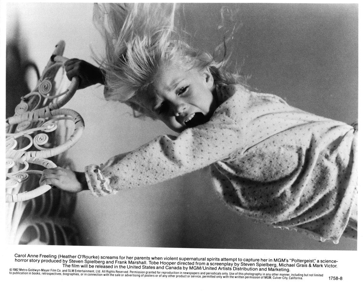 Heather O'Rourke (1975 – 1988) / Shock séptico