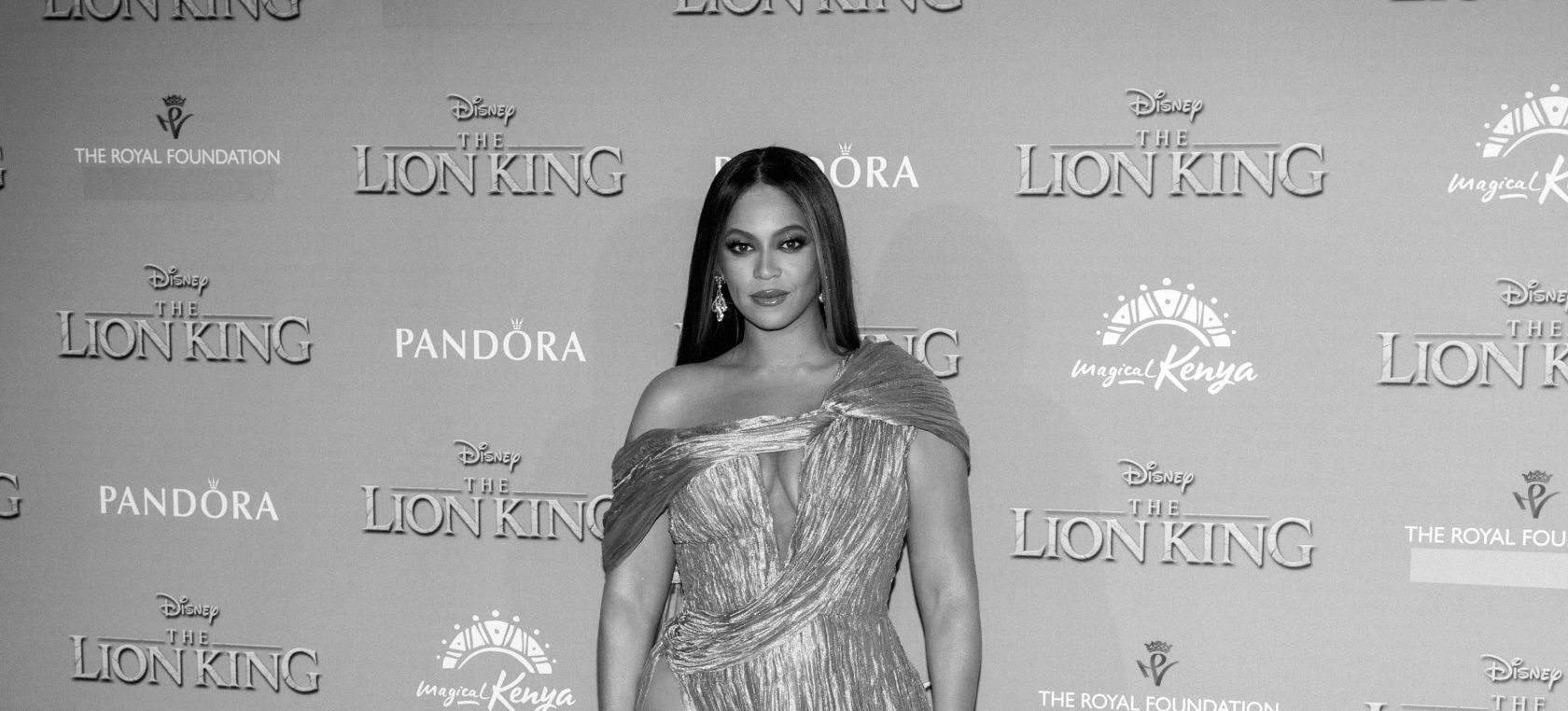 Beyoncé en la premiere de 'The Lion King'