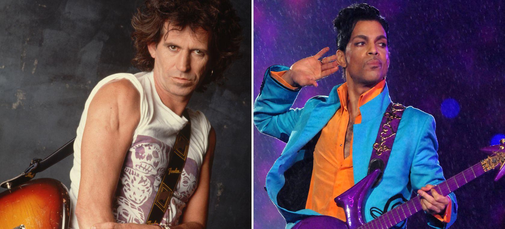 Esta es la razón por la que Keith Richards despreciaba a Prince y le llamaba