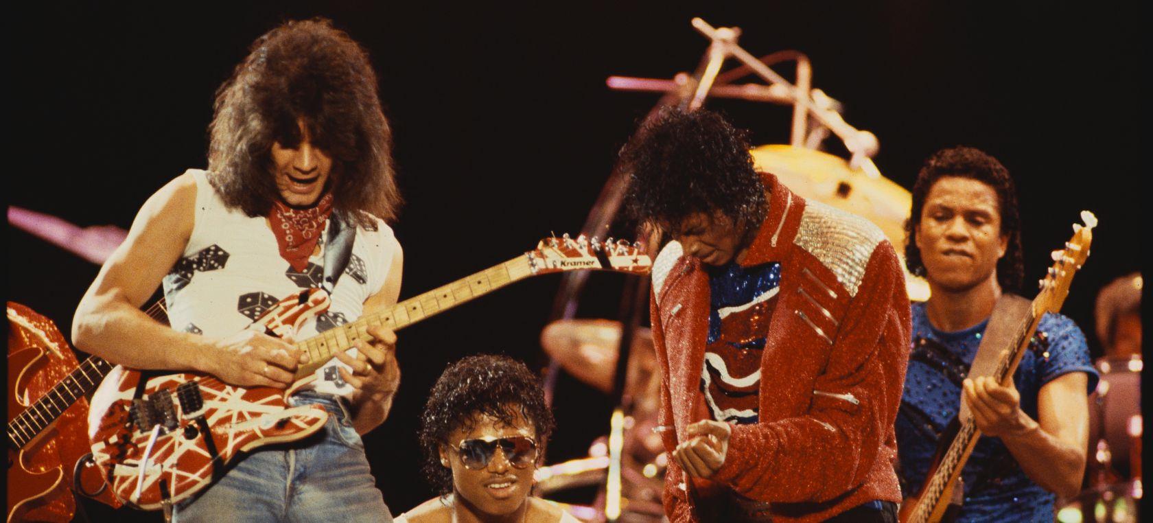 Así fue como Eddie Van Halen mejoró 'Beat it' de Michael Jackson a cambio de unas cervezas